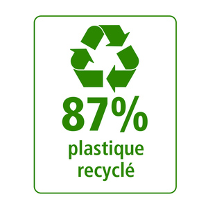 POCHETTE 4 FEUTRES ASSORTIS GREEN POINT 0.8MM 87% PLASTIQUE RECYCLE (
